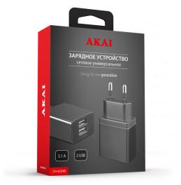 Зарядное устройство сетевое Akai CH-6C04B/W