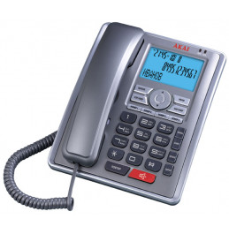 Телефон проводной Akai AT-A15ТS(MS)