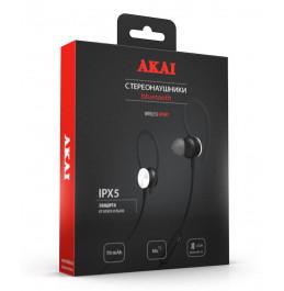 Наушники беспроводные с функцией Bluetooth Akai HD-202B