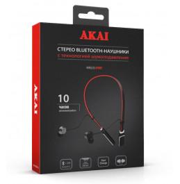 Наушники беспроводные с функцией Bluetooth Akai HD-203BR