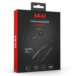 Наушники беспроводные с функцией Bluetooth Akai HD-204B