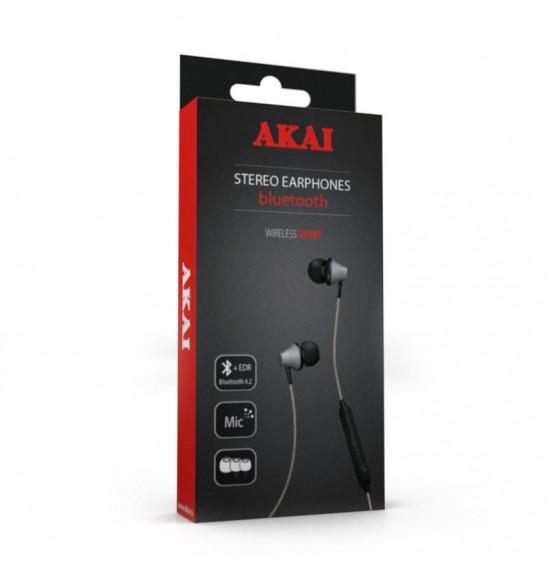 Наушники беспроводные с функцией Bluetooth Akai HD-205BG