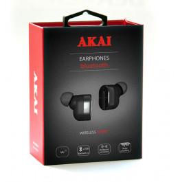 Наушники беспроводные с функцией Bluetooth Akai HD-221B/W