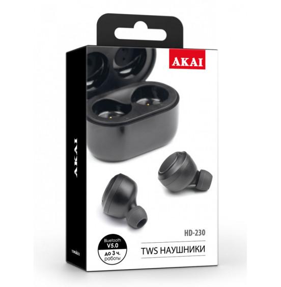 Наушники беспроводные с функцией Bluetooth Akai HD-230B