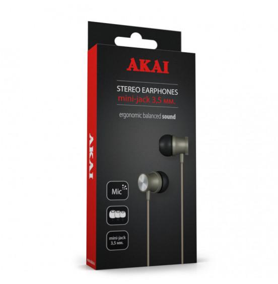 Наушники стереофонические Akai HD-614G