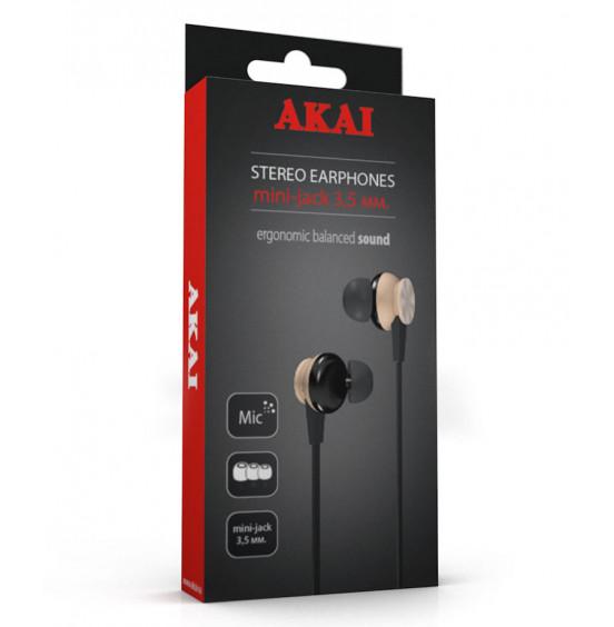 Наушники стереофонические Akai HD-617BZ