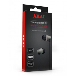 Наушники стереофонические Akai HD-619B/R/W